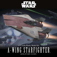 A Wing Starfighter 1/72 scale