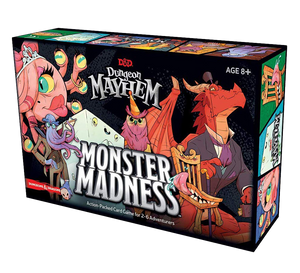 D&D Dungeon Mayhem Monster Madness expansion