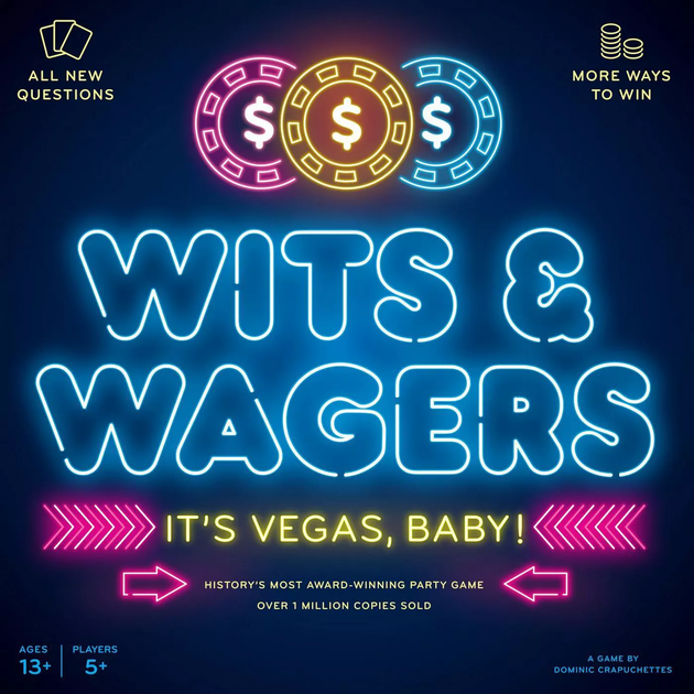 Wits and Wagers It's Vegas Baby