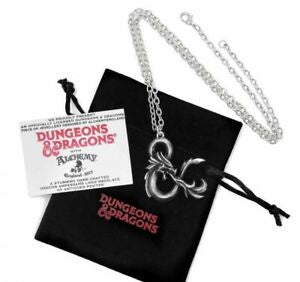 Alchemy Dungeons and Dragons Pendant