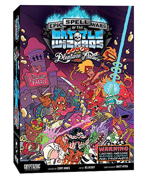Epic Spell Wars Panic at the Pleasure Palace Card Game