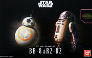 BB-8 & R2-D2 scale 1/12
