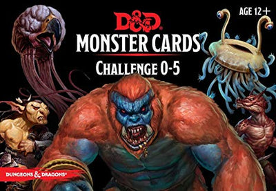 D&D Monster Cards 0-5