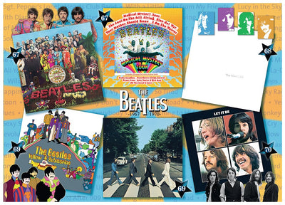 Beatles Albums 1967 - 70 1000pc