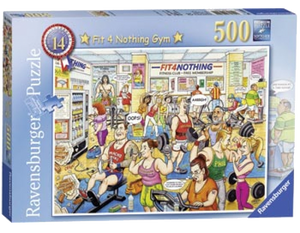 Fit 4 Nothing Gym 500 pc