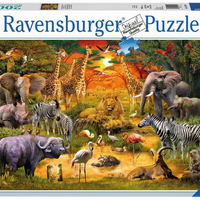 Gathering at the Waterhole 2000pc