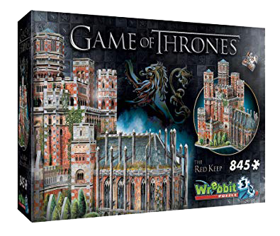 Game of Thrones  The Red Keep 3D puzzle 845pc