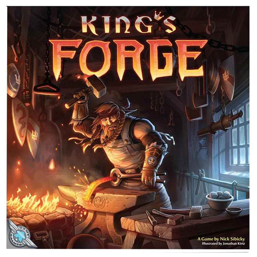 Kings Forge 3rd Edition Board Game