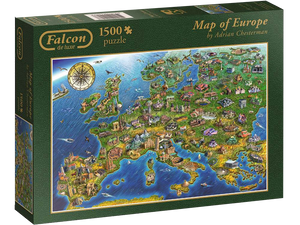 Map Of Europe 1500 pc
