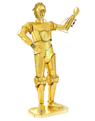 Metal Earth Star Wars C3PO Gold
