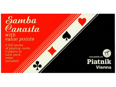 Samba Canasta with points