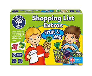 Shopping List Extras Fruit and Veg