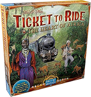 Ticket to Ride Africa Board Game Expansion
