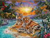 Tigers at Sunset 2000pc