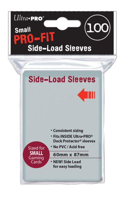 Ultra Pro Standard Side Load Sleeves