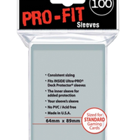 Ultra Pro Clear Sleeves