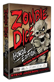 Zombie Dice Horde Edition Dice Game