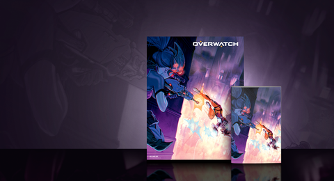 New Product Announcement - Overwatch: Tracer – London Calling #1 Variant Comic Bundle