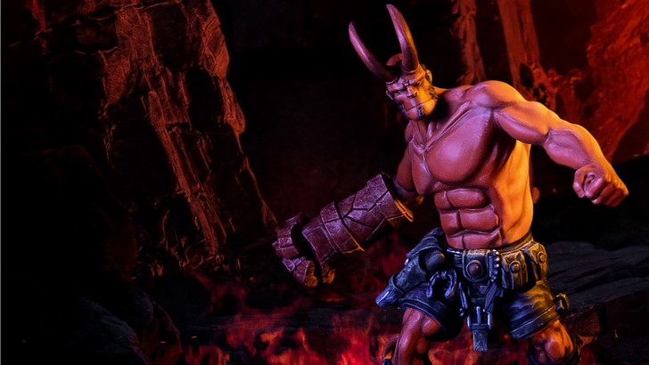 New Product Announcement: Hellboy Statue–Mantic Series