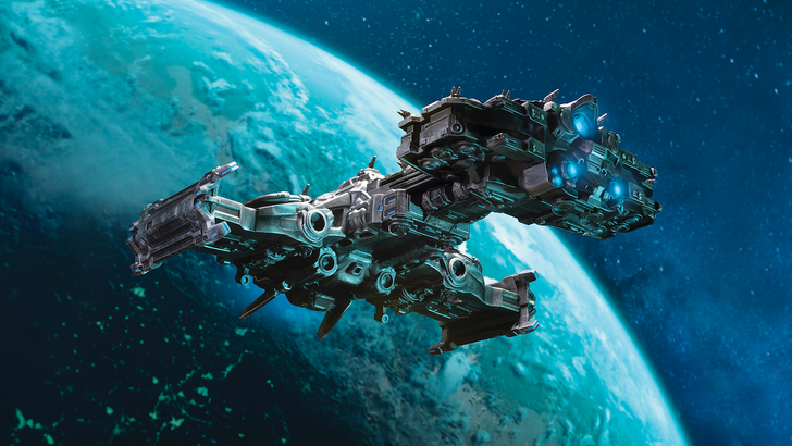 New Product Announcement: StarCraft Terran Battlecruiser Ship Replica