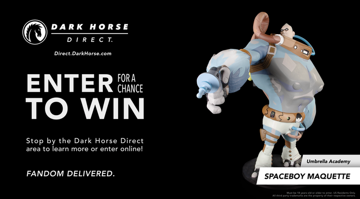 Dark Horse Direct Newsletter Sign-up Contest