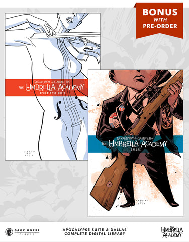 Umbrella Academy Digital Comics Pre-order Bonus