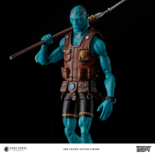 Abe Sapien Action Figure Exclusive