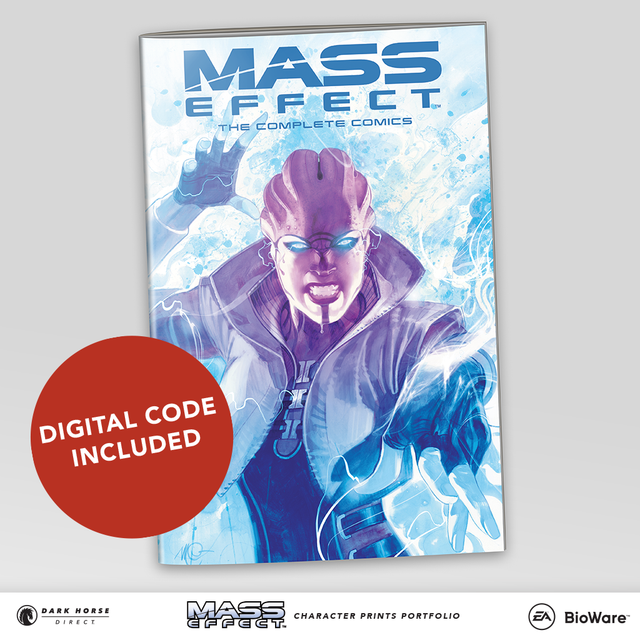 Mass Effect Character Prints Portfolio