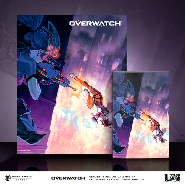 Overwatch: Tracer – London Calling #1 Exclusive Variant Bundle