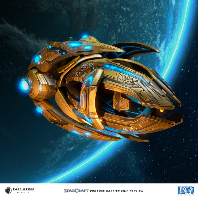 StarCraft Protoss Carrier Replica