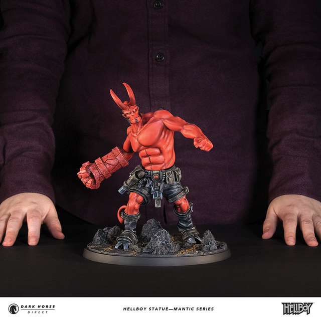 Hellboy Statue—Mantic Series