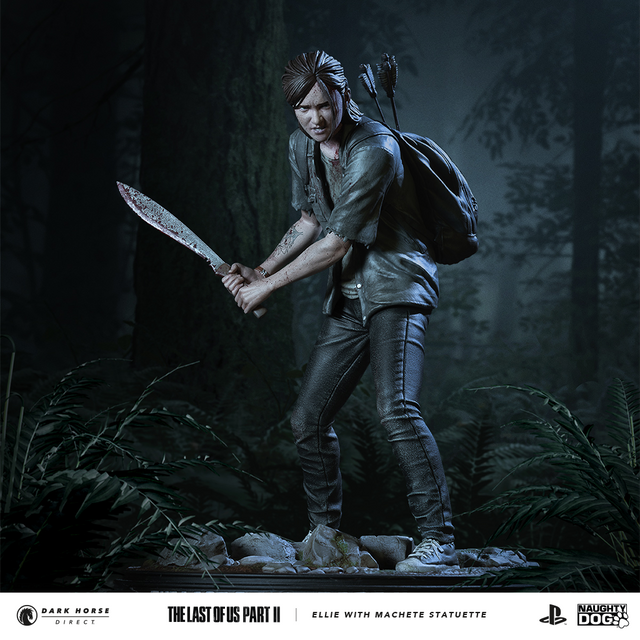 The Last of Us Part II - Ellie with Machete Statuette