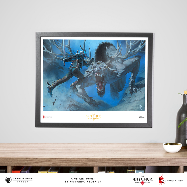 The Witcher 3—Wild Hunt Giclée Print (Riccardo Federici)