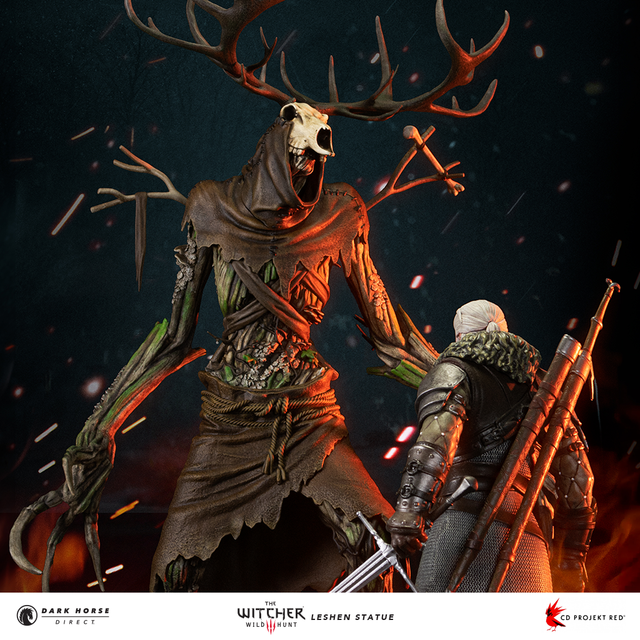The Witcher 3—Wild Hunt: The Leshen Statue