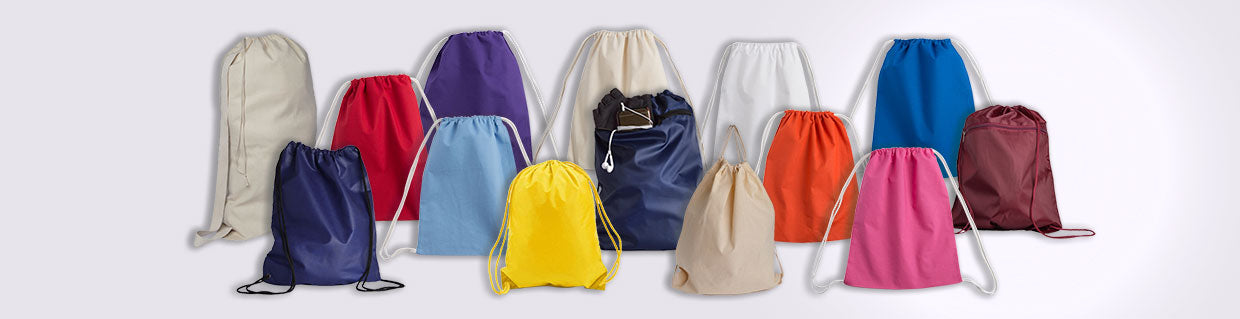 drawstring backpack bag