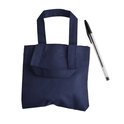 Promotional Mini 6'' Cotton Tote Bag