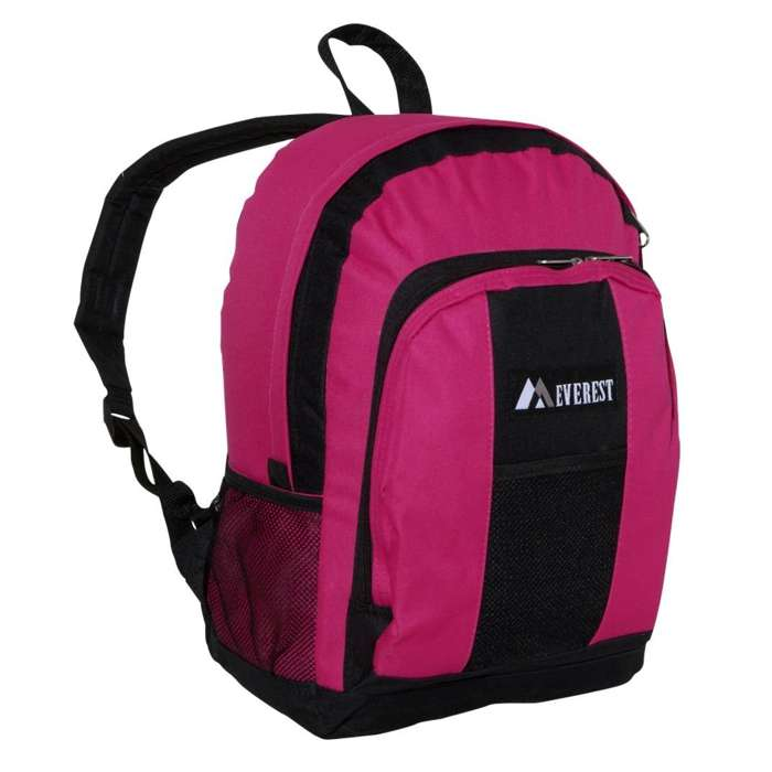 Everest Backpack for School with Front and Side Pockets