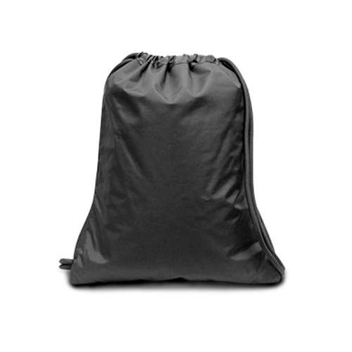 Microfiber Drawstring with Gusset - Black