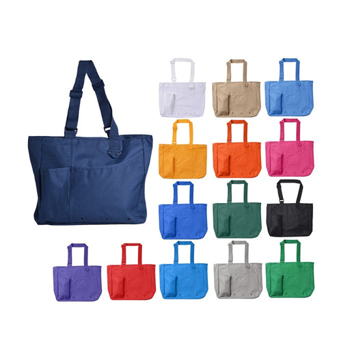 Super Feature Totebag Handbag - Multiple Pockets