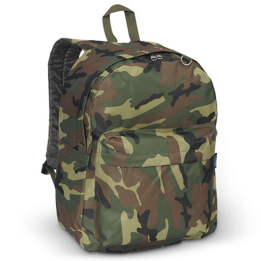 Classic Camouflage Camo Backpack