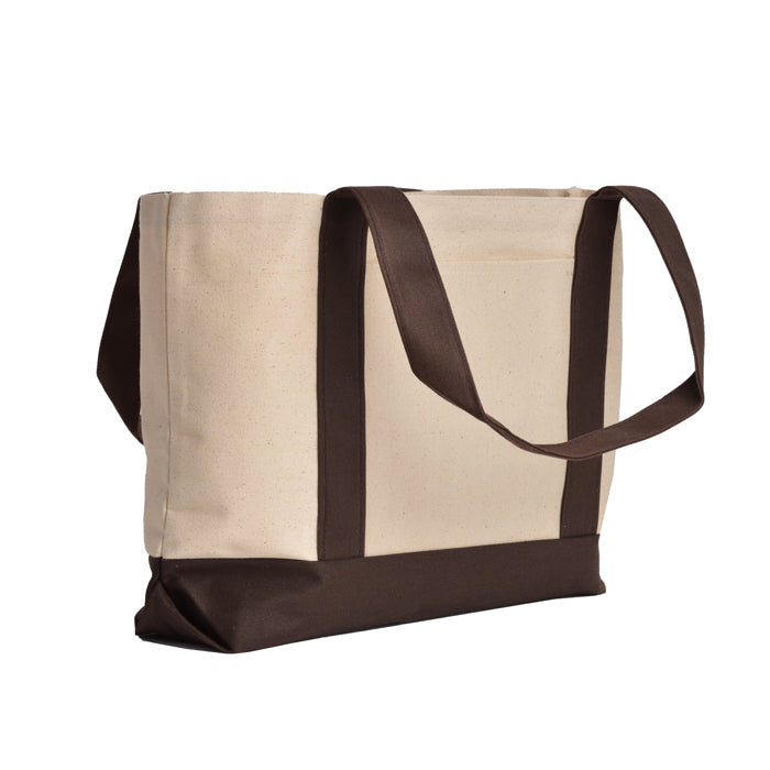 "Grand Canyon Cotton Canvas Tote bag with 24"" Handles"
