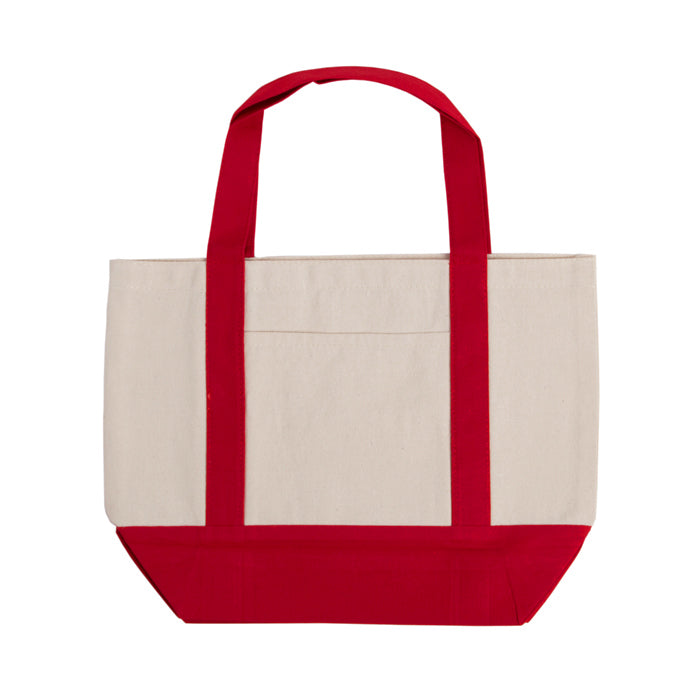 Beach Cotton Canvas Tote Bag