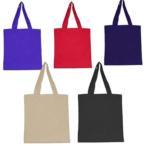 Go Green Lightweight Cotton Canvas Tote bag