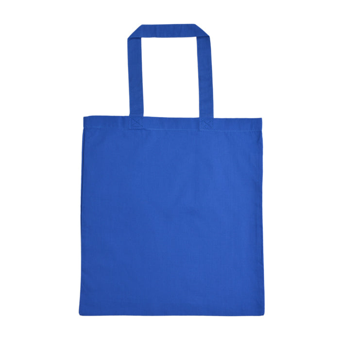 Wholesale tote bags royal blue