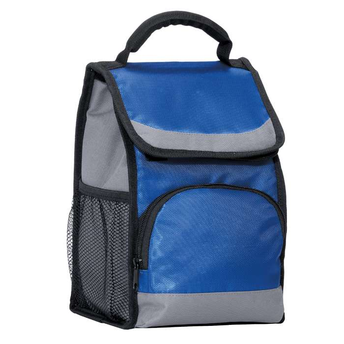 Insulated Flap Lunch Cooler Tote Bag Royal - Clearance