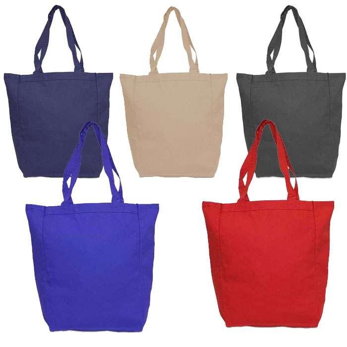 Sturdy Daily Carry All Canvas Totebag