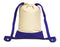 Promotional Canvas Drawstring Backpack