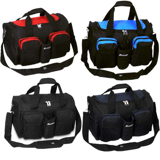 Athletic Duffle With Shoe Pocket