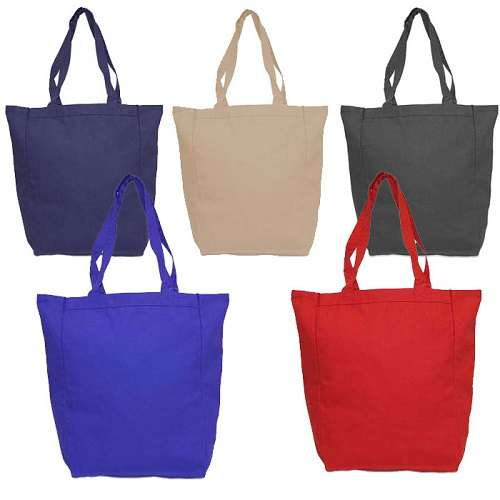 Green World Sturdy Daily Carry All Canvas Tote bag