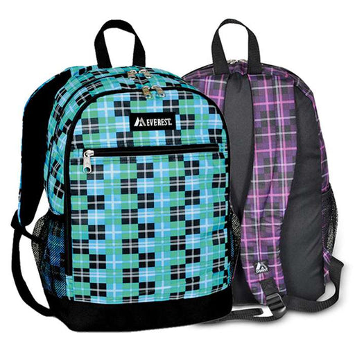 Casual Backpack With Mesh Side Pockets - Clearance